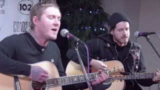 "Brian Fallon ""A Wonderful Life"" LIVE in the CD102.5 Big Room"