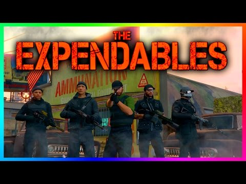 GTA ONLINE 'THE EXPENDABLES' SPECIAL - BEST GTA 5 MILITARY VEHICLES, MERCENARY OUTFITS & ARMY GEAR!