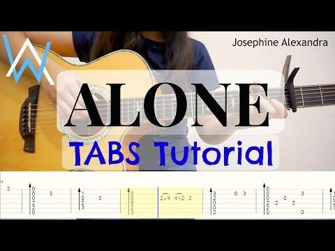 (Alan Walker) Alone - Fingerstyle Guitar TABS | Josephine Alexandra