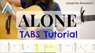 Download (Alan Walker) Alone - Fingerstyle Guitar TABS | Josephine Alexandra