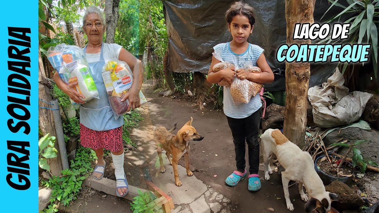 Conociendo a las familias necesitadas del Lago de Coatepeque | video 03 | gira solidaria Youtubero