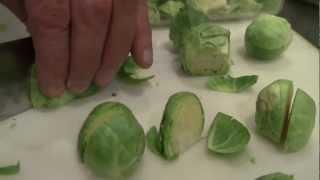 Prep - Preparing Veggies, Bacon And Ingredients | Blue Heron Cooking Class