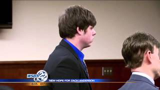 Judge agrees to order Zach Anderson off MI sex offender reg.