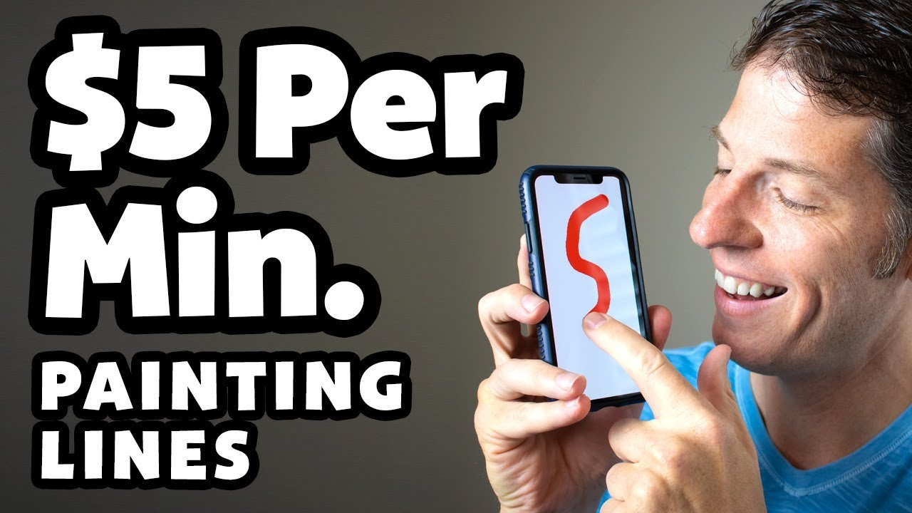 Make Money Painting Lines - Easy Online Jobs