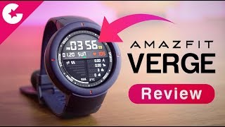 Xiaomi Huami Amazfit Verge Review - Best Budget Smartwatch With Premium Features!!