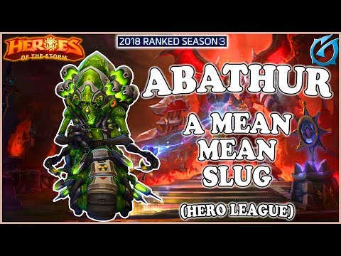 Grub  Heroes of the Storm  Abathur  A Mean Mean Slug  HL 2018 S3  Dragon Shire