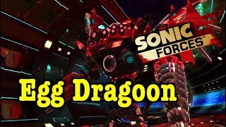 How to Beat eggman Egg Dragoon in sonic Forces 3rd Boss Battle