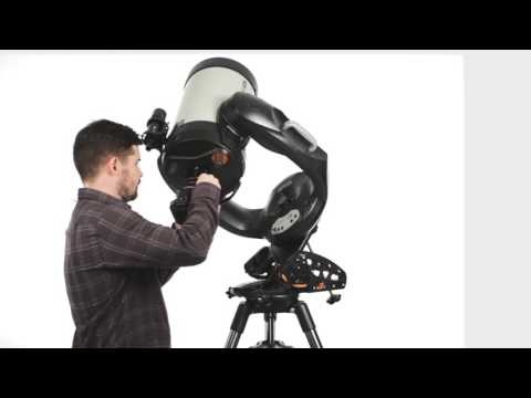 CPC Deluxe 800 HD Computerized Telescope with Hand Control and Internal GPS