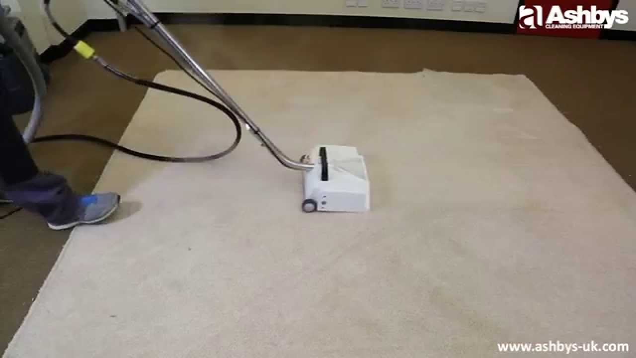 How to clean carpets FAST with Ashbys Metal Power Brush ...