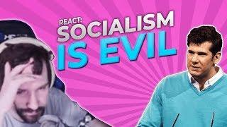 Socialism is Evil - Destiny Reacts