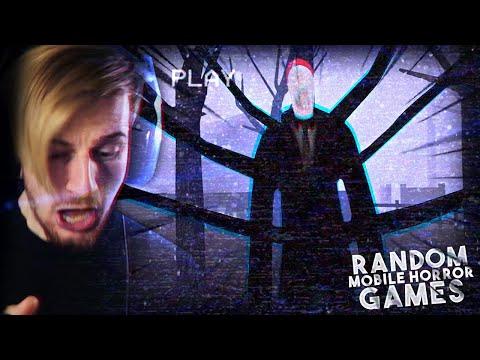 SO I PLAYED 4 RANDOM MOBILE HORROR GAMES..