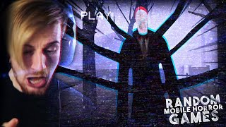 SO I PLAYED 4 RAΝDOM MOBILE HORROR GAMES..