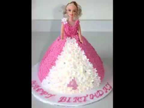 Kreative Barbie Kuchen Design Deko Ideen Youtube