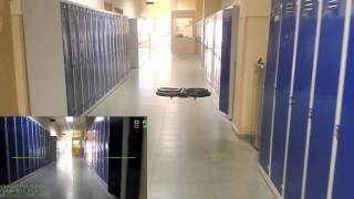 AR.Drone control based on vanishing point for yaw control