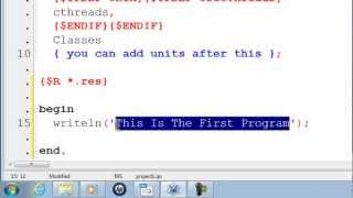 Free Pascal Program Tutorial 1 - Getting Started - Lazarus Download Link