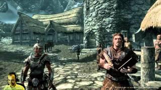 Elder Scrolls V: Skyrim Walkthrough (PC) - Part 1 - Stealth Dark Elf Gameplay - Let