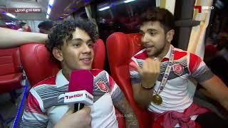 قناة الكأس في حافلة الدحيل بطل كأس الأمير 2019