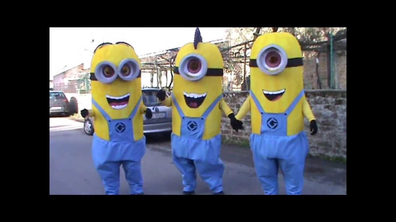 Favoloso MINIONS 2014 CARNEVALE - YouTube WR58