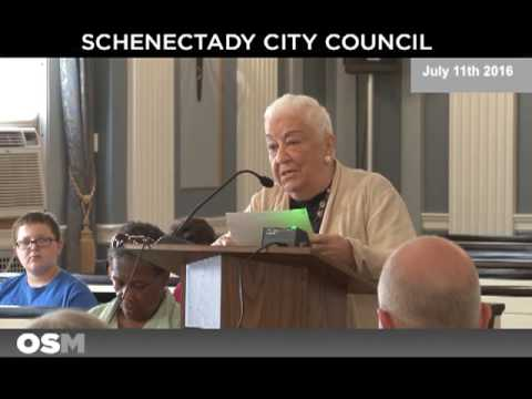 Schenectady City Council July 11th 2016