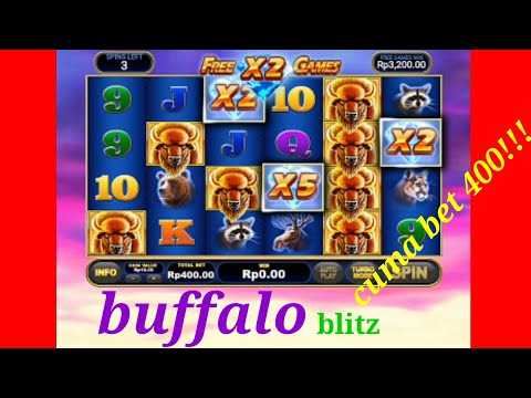 #slot-#slotonline-#slotjackpot-buffalo-bet-400