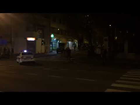 Policija u centru grada