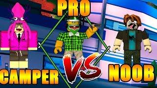NOOB vs PRO vs CAMPER - jailbreak roblox