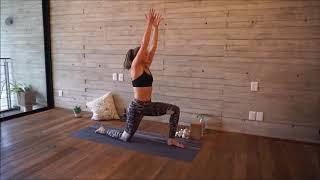 20 min. Power Yoga Flow mit Lena für Beine und Po.