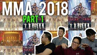 MMA 2018 pt.1 - IKON and BTS (Melon Music Awards Reaction)