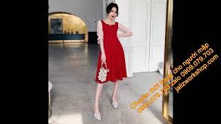 Trang bán đầm Bigsize uy tín đẹp may theo số đo áo đầm mẹ và bé