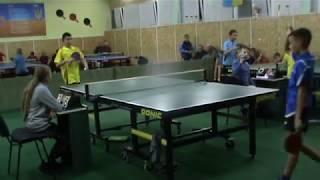настольный теннис Вознесенск 27.10.2018 Брятко Vs ... (Умань)