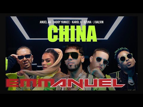 Anuel AA, Daddy Yankee, Karol G, Ozuna & J Balvin – China (Video Oficial)