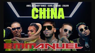 Anuel AA, Daddy Yankee, Karol G, Ozuna &amp J Balvin - China (Video Oficial)