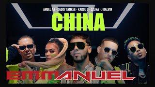Download Anuel AA, Daddy Yankee, Karol G, Ozuna & J Balvin - China (Video Oficial)