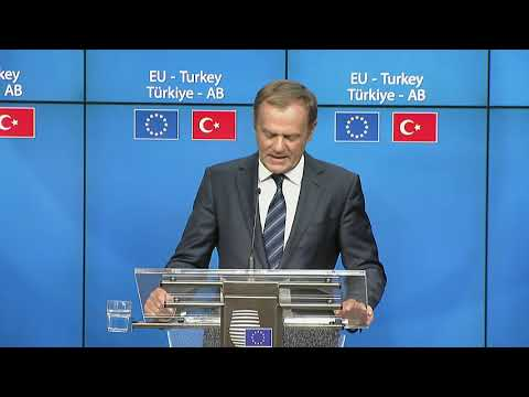 Highlights Meeting of the EU heads of state or government with Turkey