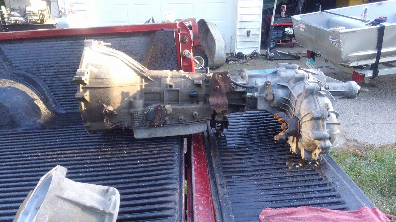 Ford 4r70w 4x4 Transmission Inspection