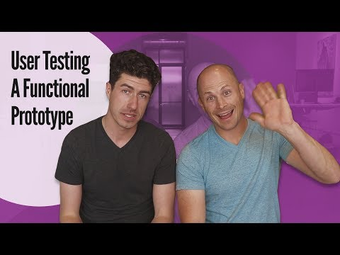 How to Test a Prototype with REAL People: User Testing a Functional Prototype