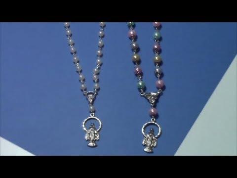 tutorial como hacer un rosario / tutorial how to make a ...