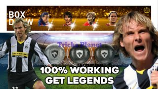 Legend Black Ball Trick-Legend Italian Box Draw PES 2019 Mobile