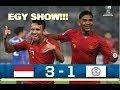 INDONESIA 3 vs 1 TAIWAN ||| AFC CUP U-19 ||| Egy M - Witan Bergantian Assist & Cetak Gol