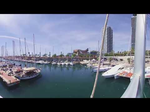 Vídeo 360 Barcelona - VR Realidad Virtual Waterfront - Port Olímpic - Port Vell - Barcelona