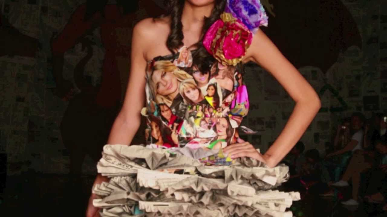 3rd Annual Eco Friendly Fashion Show YouTube