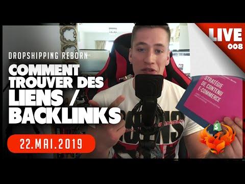 DROPSHIPPING SEO : comment trouver des LIENS / BACKLINKS (live)