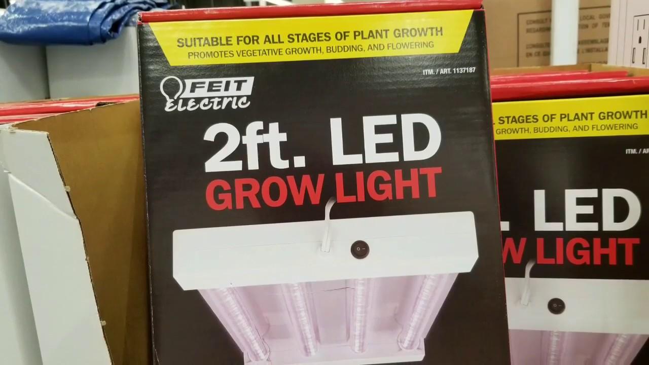 Costco! FEIT 2FT LED GROW LIGHT! $59!!!