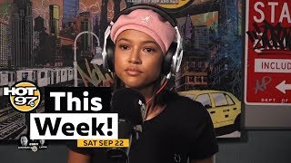 Karruechee on Chris, Puffy & French Montana show up, A$AP Twelvyy & more on Hot97 This Week!