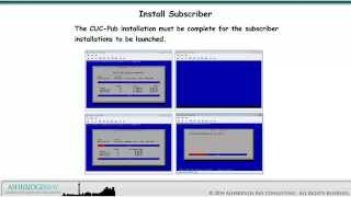 day 2 cucm cuc im and uccx cluster installations cuc subscriber installation