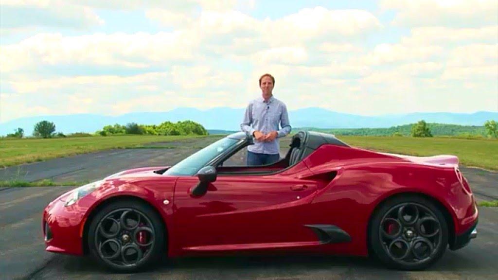 Alfa Romeo 4C Spider 2016 Review | TestDriveNow - YouTube