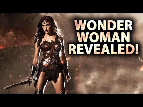 Wonder Woman Revealed! & Other Comic Con News