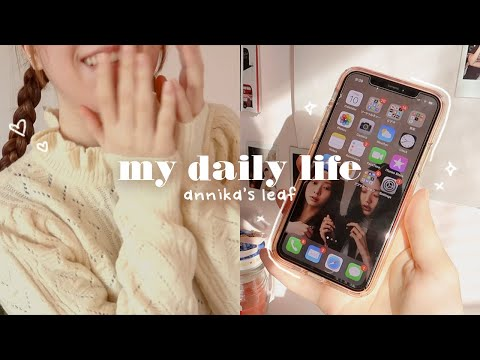 week in my life 🍞 what's on my iphone, ruining my sleep schedule, making an eco-bag