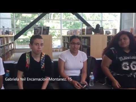 High school freshman react to 9/11 footage