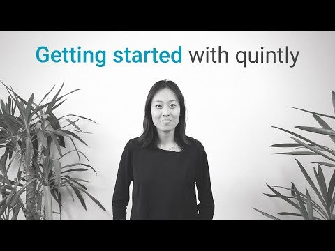 Getting started with quintly